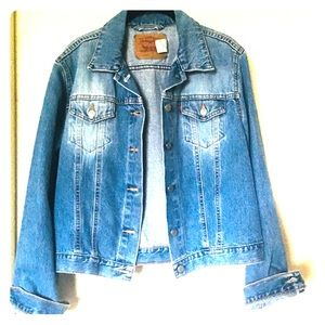 Levi Strauss vintage denim jacket LG